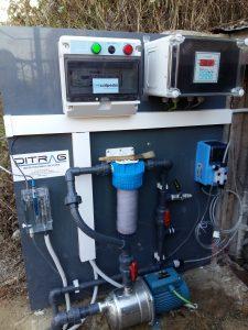 Potabilizadora de agua de pozo
