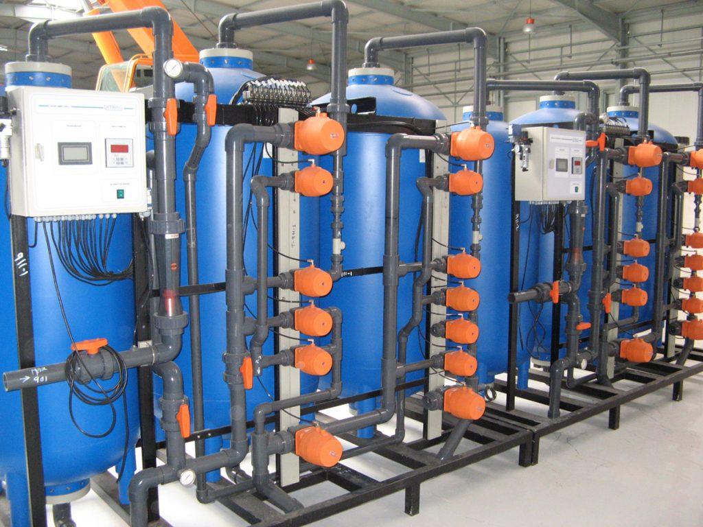 reutilización del agua de procesos industriales