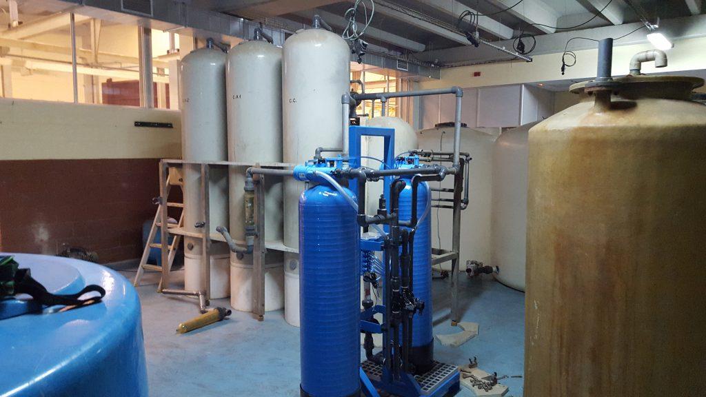 Planta depuradora de aguas residuales