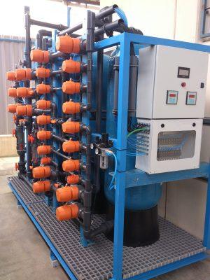 Filtración con resinas selectivas