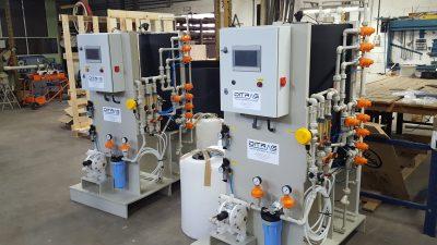 Dos unidades en proceso de fabricación